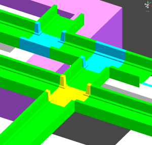 Multi Coloured Corridors