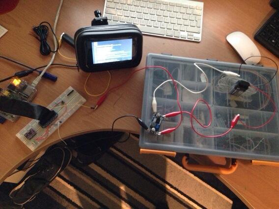 Raspberry Pi off a 9v Battery